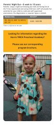 Child Care - YMCA of Greater Charlotte