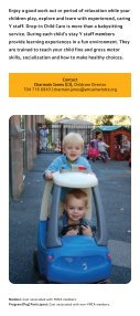 Child Care - YMCA of Greater Charlotte - Page 4