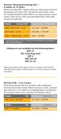 Child Care - YMCA of Greater Charlotte - Page 5