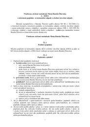 Všeobecne záväzné nariadenie mesta Banská Štiavnica č. 8/2011 o ...