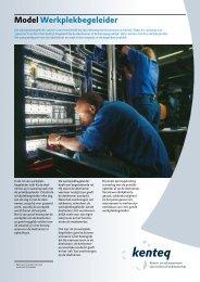 Model Werkplekbegeleider competenties van belang - MBO Raad