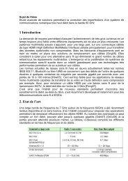 1 Introduction 2. Etat de l'art - Départements d'Enseignement ...