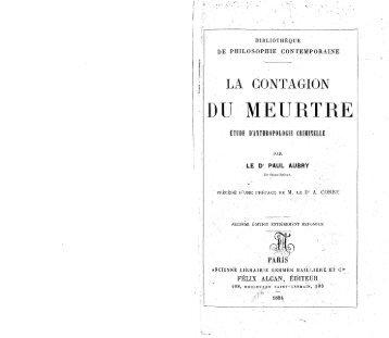 contagion du meurtre - Decalog