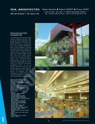 sga architectes - L'Architecture