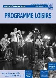 PROGRAMME LOISIRS - Ville de Saint-Apollinaire