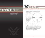 Vortex 6-24x50 EBR-1 MOA reticle manual - Euro Optics Ltd.
