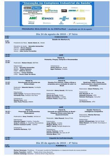 Programa - IPD-Farma