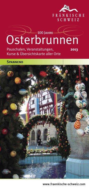 Osterbrunnen – Fränkische Schweiz – 2013 - Hollfeld
