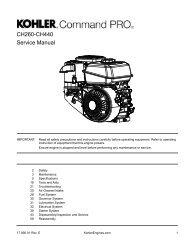 CH260-CH440 Service Manual - Kohler Engines