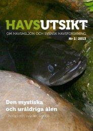 HavsUtsikt nr 1,2013 - Havet.nu