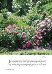 Rose Garden - Heritage Rose Foundation