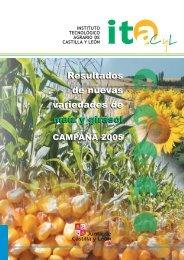 Resultados de nuevas variedades de maíz y girasol ... - ITACyL