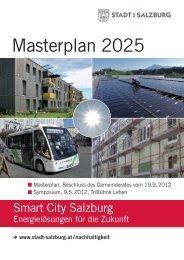 Masterplan 2025 - Stadt Salzburg
