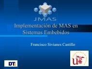 Implementación de MAS en Sistemas Embebidos