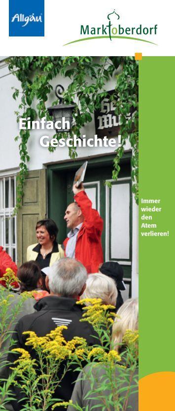 PDF 1,5 MB - Touristik Marktoberdorf