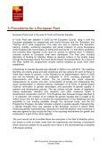 Proposal for a European Pact on Disability - CFHE - Page 5