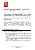 Proposal for a European Pact on Disability - CFHE - Page 6