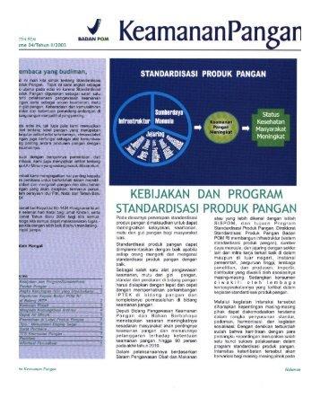 4 - Sistem Keamanan Pangan Terpadu - Badan POM