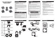 PC601 High Performance Square Camera Operations Manual