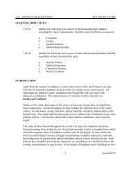 SOURCES OF RADIATION - RCT STUDY GUIDE - NukeWorker.com