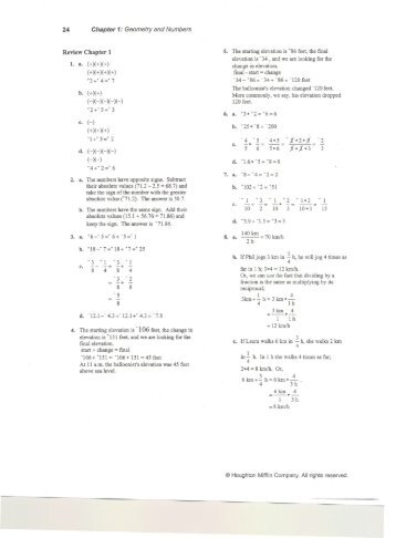 Ch. 1 Practice Test
