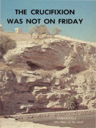 The Crucifixion Was Not On Friday PDF - Church of God Faithful Flock