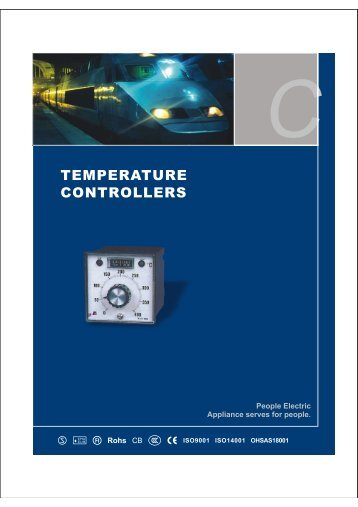 temperature controllers - PEOPLE ELE.APPLIANCE GROUP CHINA