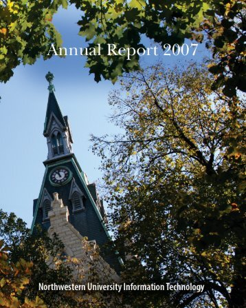 NUIT Annual Report 2006 - Northwestern University Information ...