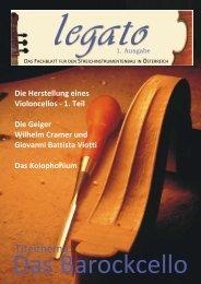 LEGATO Ausgabe 1 - Kerstin Hoffmann & Claudia Rook