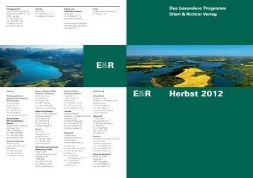 Unser aktuelles Programm - Ellert & Richter Verlag GmbH