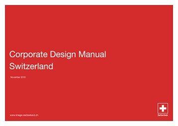 Corporate Design Manual Switzerland