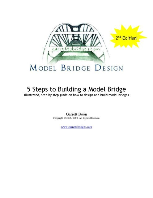 5 Steps to Building a Model Bridge PDF - Model Bridge Design