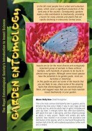 Garden Entomology - Royal Entomological Society