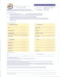 NEW ACCOUNT ENROLLMENT FORM - The Walt Disney Company