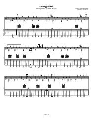 Tab - Acoustic Fingerstyle Guitar