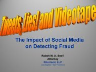 The Impact of Social Media on Detecting Fraud
