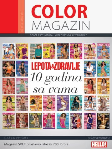 Magazin SVET proslavio izlazak 700. broja - Color Press Group