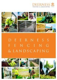 Deerness Fencing & Landscaping Brochure - Esh Group