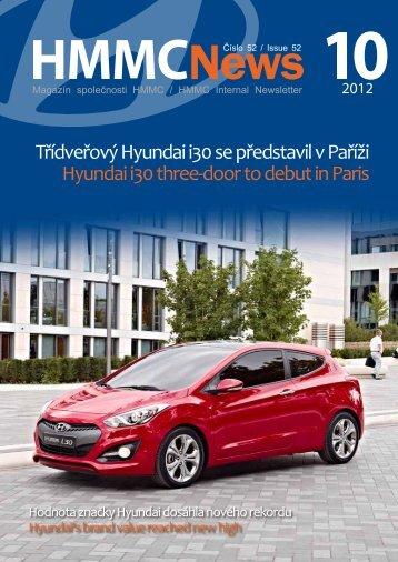Firemní zpravodaj (ke stažení v pdf) číslo 52/Září2012 - HYUNDAI ...