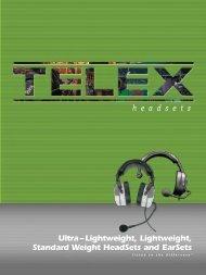 Ultra – Lightweight, Lightweight, Standard Weight HeadSets ... - AVC