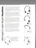 Ultra – Lightweight, Lightweight, Standard Weight HeadSets ... - AVC - Page 3