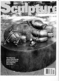 Sculpture Magazine April 2005 - Tom Otterness