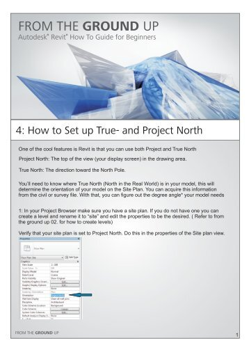 04_How to Set up Project and True North.pdf - Autodesk ...