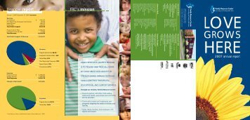 FRC's mission Financial report - Family Resource Center