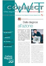 Dicembre 2007 - Carlson Wagonlit Travel