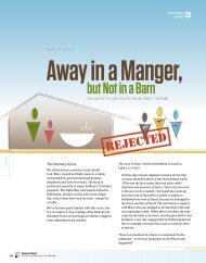 Away in a Manger, But Not a Barn - Bible Study Magazine