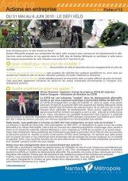 Fiche action 13 - Du 31 mai au 6 juin 2010 : le ... - WindreportMedia