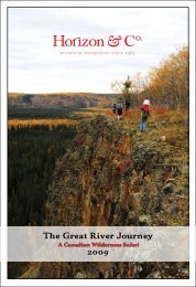 The Great River Journey - Horizon & Co.
