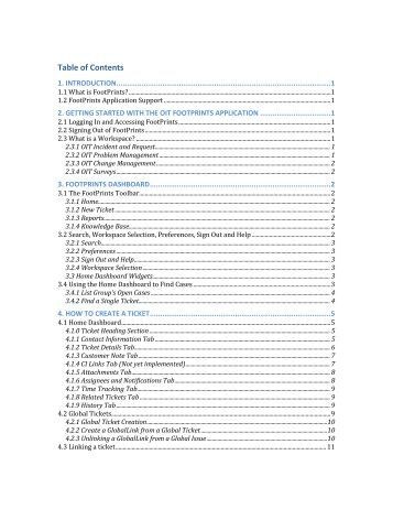 OIT FootPrints Incident and Request User Guide.pdf - Office of ...