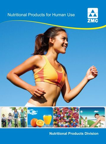 Nutritional Products for Human Use - ZMC-USA